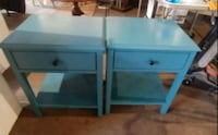 Two antique end tables Reading, 19601