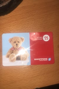 shoppers gift card