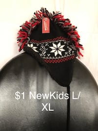 black and red knit cap Gaithersburg, 20879