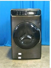 black Samsung front-load clothes washer 261 km