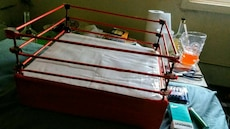 red wrestling Ring
