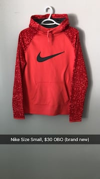 Ladies Nike Hoodie Small New! Kingston, K7P 1G4