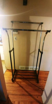 black and gray clothes rack 3730 km