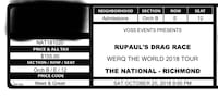 RuPaul Drag Race meet and greet ticket!  Alexandria, 22303