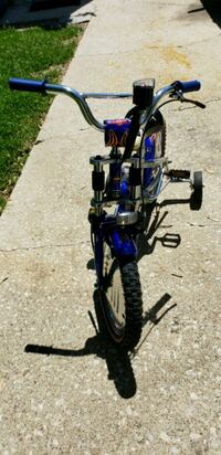 black and blue standard motorcycle Bolingbrook