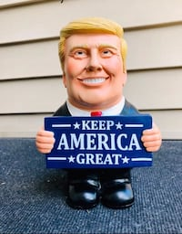 "Donald Trump Statue . 10"" tall"