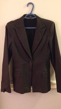 Black notch lapel suit jacket New Westminster, V3L 5L7