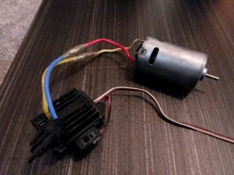 Traxxas 1/10 brushed motor  0