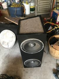 Subwoofer with box  Vaughan, L4H 1R7