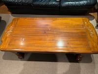 Coffee table and couch set  Mississauga, L5M 7X5