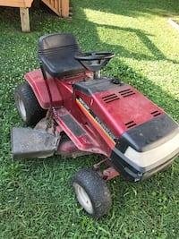 red and black ride on mower Chattanooga, 37343