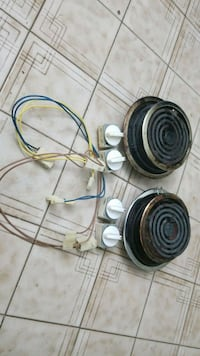 two round black-and-gray electric coils Toronto, M3J 1K7