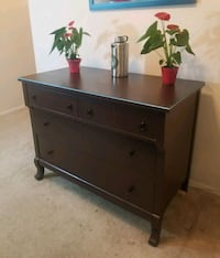 brown 4-drawer chest or Buffet or bedroom set 23 mi
