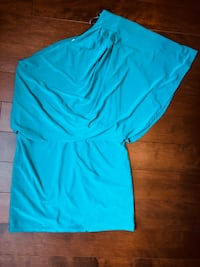 Teal coloured dress-small. Vaughan, L6A 2S8