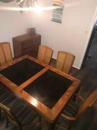 Bernhardt dining table and 10 chairs Houston, 77080