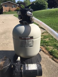 Sand Filter and Pump WATERFORD