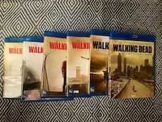 The Walking Dead Sesong 1-6 BluRay