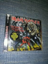 Cd Iron Maiden - the number of the beast Málaga, 29003