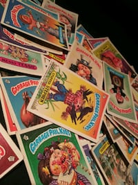 Garbage pail kids trading cards\stickers Germantown, 20876