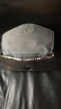 New silver clutch bag with dark gray inside Mississauga, L5A 1B5