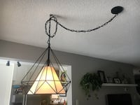Hanging lamp 2 wks old my wife changed her mind retails for 140$ home depot Ajax, L1S 3W5