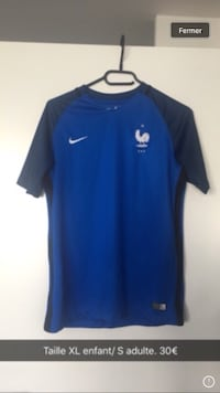 Maillot de football équipe de France