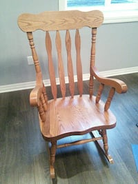 brown wooden windsor rocking chair Barrie, L4N 7T6