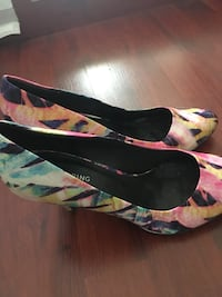Funky colour heels