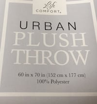 Urban Plush Throw