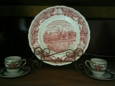 Royal ivory collectable tea cups