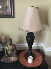 two brown and white table lamps Herndon, 20170