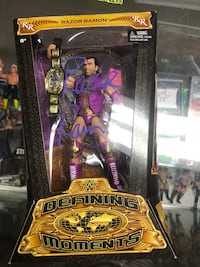 WWE Razor Ramon - Defining Moments. Autographed with Certificate Toronto, M5V 0H9