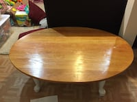 round brown wooden pedestal table South Bend, 46617