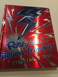 Ripley's Believe it or Not Book Toronto, M6N 2G4