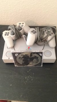 Ps1 and a game and two controllers  Grand Prairie, 75050