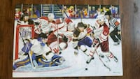 Hockey Slapshot giant puzzle by Melissa a Mississauga, L5M 0P3