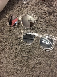 Two silver-colored framed sunglasses Port Allen, 70767