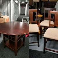 Table and 3 chairs Germantown