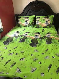 Single/double bedsheets for boys room