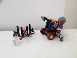 Lego Castle Knights' Catapult Defense #7091
