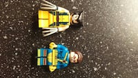 two Lego Wolverine and Cyclops minifigs Winnipeg, R2H 2Z8