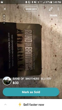 BLU RAY  BAND OF BROTHERS