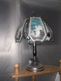 stainless steel base table lamp Syracuse