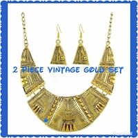 gold-colored vintage 2-piece jewelry Norfolk, 23509