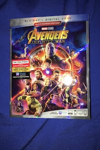 Infinity war blu ray Kensington, 20895