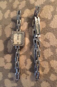 Silver bracelet and watch set with crystal BRAND NEW Melbourne, 32935