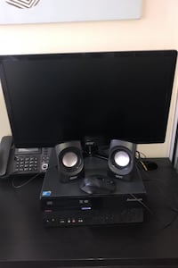 "Lenovo ThinkCentre Desktop W/23""Monitor, Keyboard, Mouse & 2 Speakers! Mississauga, L5B 3Z1"