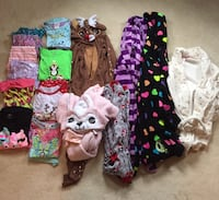 Girls PJs,onsies and Robes size 8-12 Richmond Hill, L4C