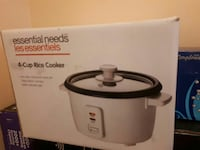 Essential Needs 4-cup rice cooker box