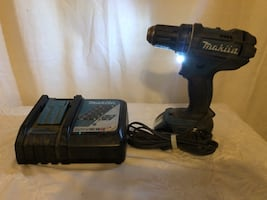 Makita cordless drill battery and charger
